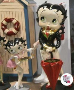 Figur Dekor Betty Boop Umbrella