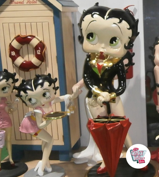 Figur Dekoration Betty Boop Umbrella