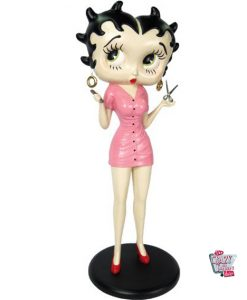 Figure Décoration Betty Boop Sexy peluquera