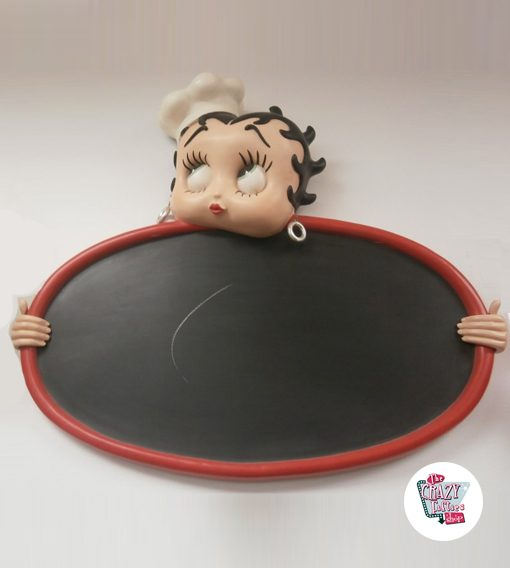 Abbildung Dekoration Betty Boop Slate