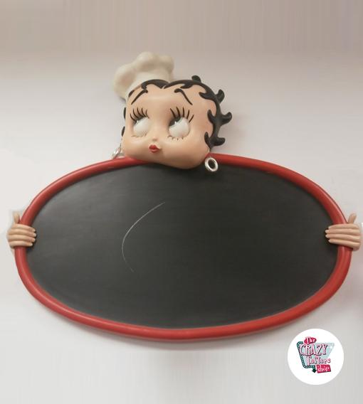Figur Dekor Betty Boop Slate
