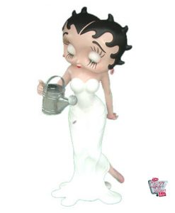 Figura Decoración Betty Boop Regando