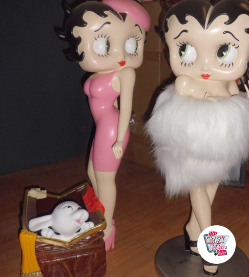 Figura Decoración Betty Boop Revistero