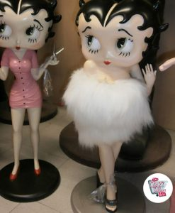 Figura Decoración Betty Boop Sexy Estola
