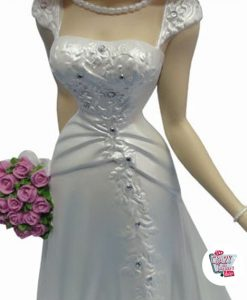 Figur Dekoration Betty Boop Wedding Dress