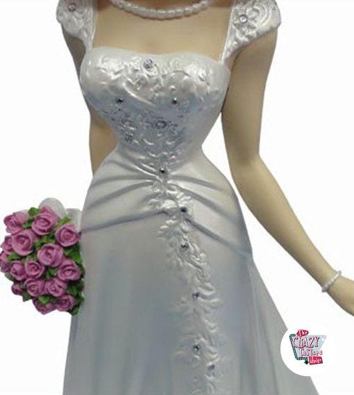 Abbildung Dekoration Betty Boop Brautkleid