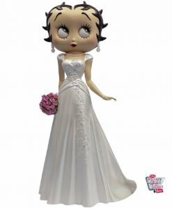 Figure Décoration Betty Boop Robe de mariée