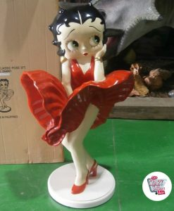Voler Figure Décoration Betty Boop Robe