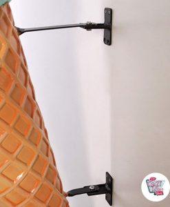 Cône crème glacée Figure Décoration murale Menta