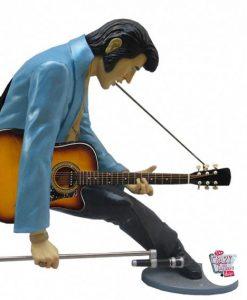 Figura Decoração Elvis Ajoelhado