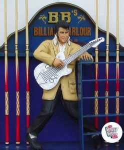 Figure Decoration Elvis Guitar Billiards