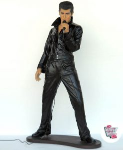 Figur Dekoration Elvis Singing
