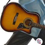 Figura Decoración Elvis Cantando Con Guitarra