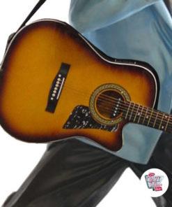 Dekorasyon Elvis Gitar ile Singing Şekil