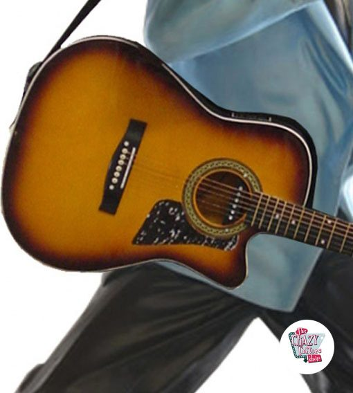 Abbildung Dekoration Elvis Gesang mit Gitarre