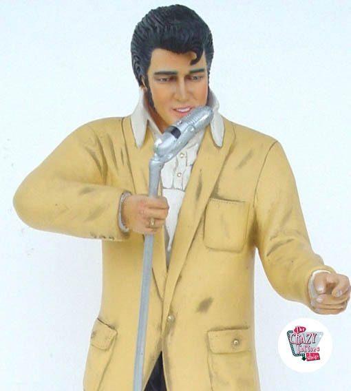Figura Decoração Elvis canta com Micro