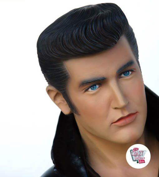 Figura Decoração Canto Elvis ajoelhamento