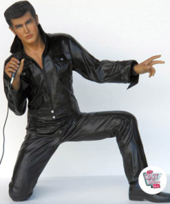 Figure Décoration Chanter Elvis Genoux