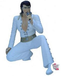 Figura Decoración Elvis De Rodillas