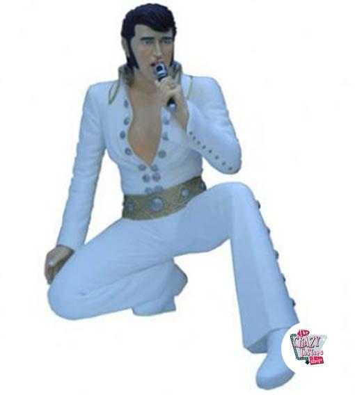 Genoux Figure Décoration Elvis