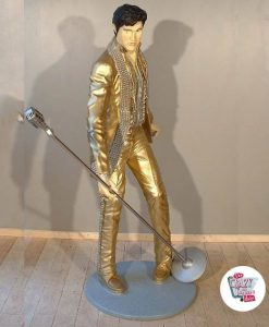 Figure Décoration Chanter Elvis Dorado