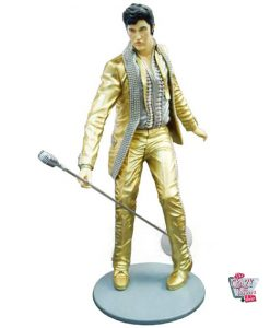 Figure Decoration Singing Elvis Dorado