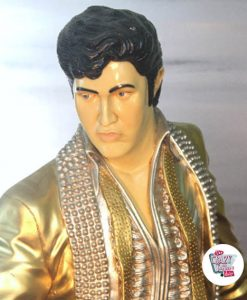 Figur Dekor Singing Elvis Dorado