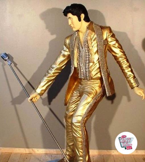 Figur Dekoration Singing Elvis Dorado