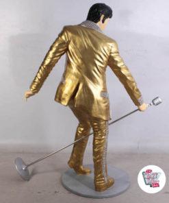 Figura decorazioni canto Elvis Dorado