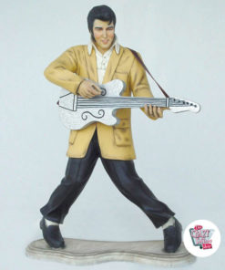 Figura Decoración Elvis Guitarra