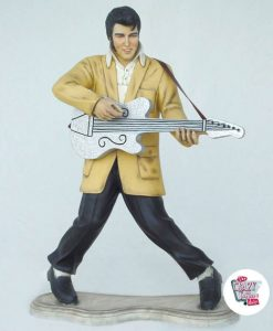 Figure Décoration Elvis guitare