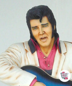 Figura decorazioni Elvis Blue Guitar
