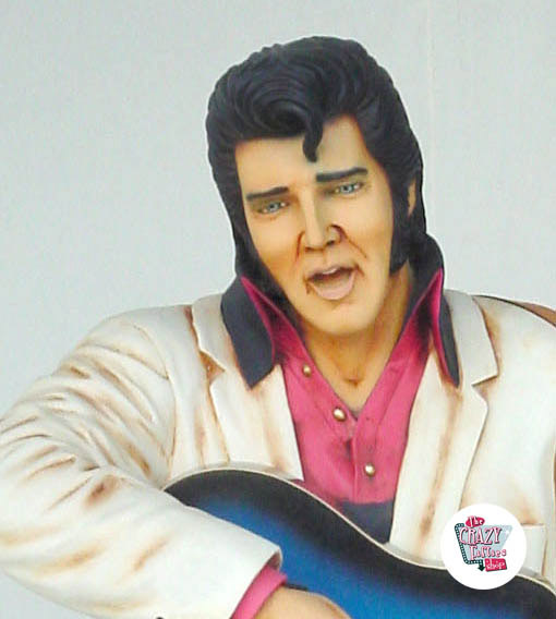 Figure Décoration Elvis Blue Guitar
