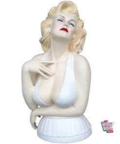 Figura Decoration Marilyn Busto