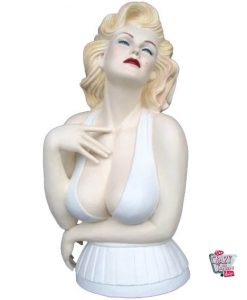 Figura Decoración Marilyn Busto