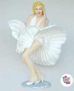 Figura Decoración Marilyn Falda