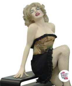 Seated Figure Decoration Marilyn M