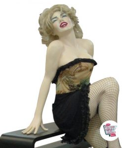 Siddende Figur Dekoration Marilyn M