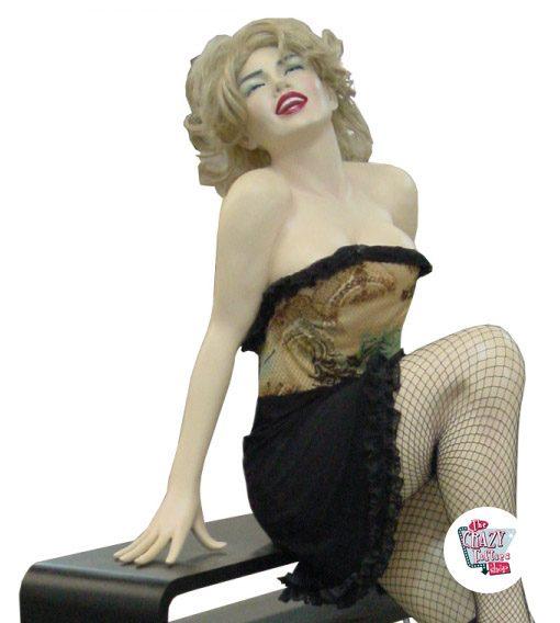 Sentado Decoração Figura Marilyn M
