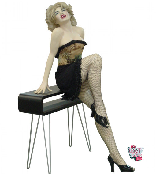Figura seduta Decoration Marilyn M