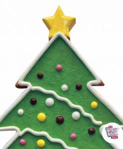 Figura Decoración Navidad Arbol Jengibre