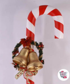 Figur Decoration Christmas Stick Giant Caramel