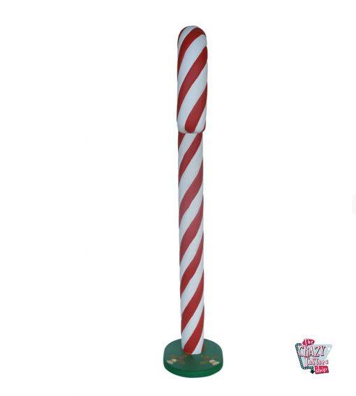 Figura Decoración Navidad Bastón Caramelo Grande