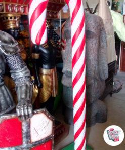 Figura decorazione natalizia Grande canna da carne
