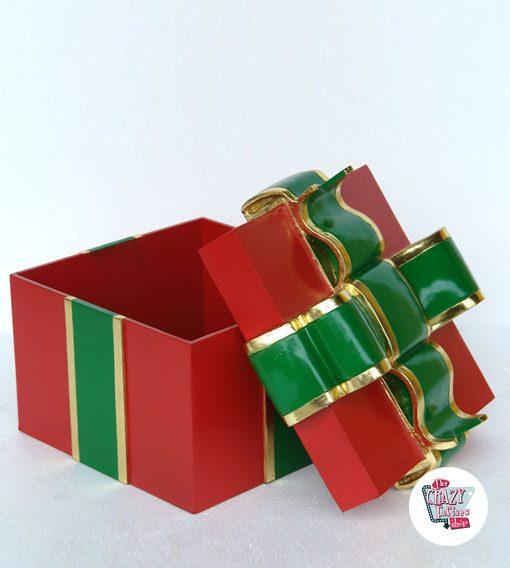 Caja Decoración Regalo Navidad
