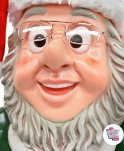 Decorazione di Natale di Elf di figura con la campana e il vassoio
