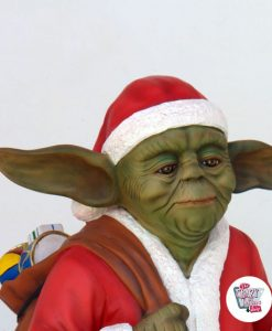 Figur Dekoration Weihnachtsmeister Yoda Weihnachtsmann