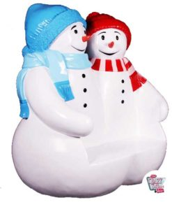 Figure Decoration Christmas Snowman Bank