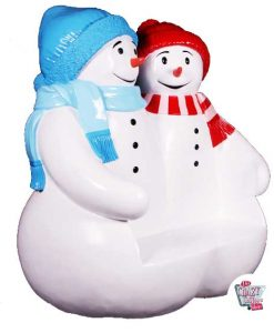 Figur Decoration Jul Snowman Bank