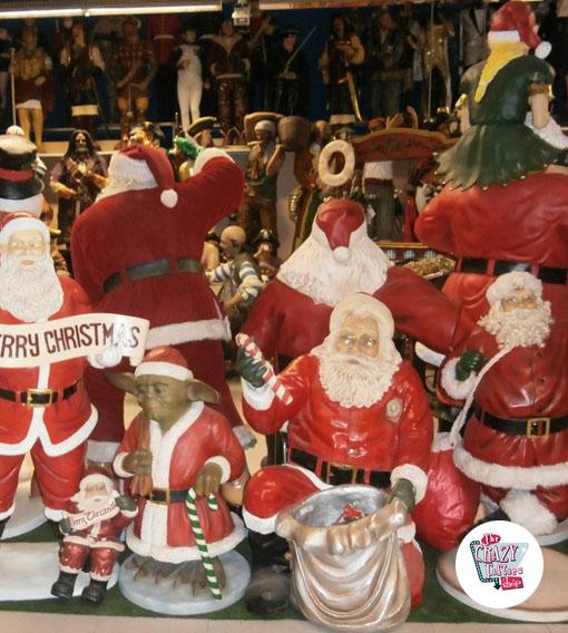 Figura Decoración Navidad Papa Noel